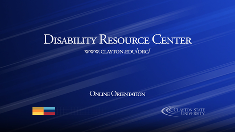 Thumbnail for entry Disability Resource Center