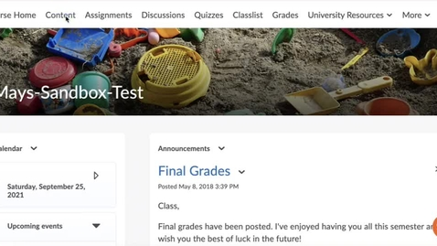 Thumbnail for entry Adding Gradescope to a D2L Course
