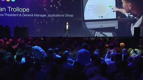 Miniatura per la voce Cisco Collaboration Summit 2018 Keynote Recap