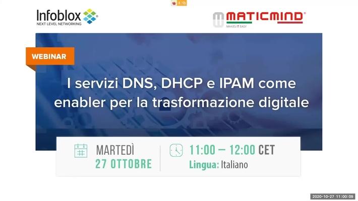 I servizi DNS, DHCP e IPAM come enabler per la trasformazione digitale