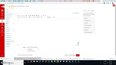 Thumbnail for entry CIDI Design Tools Menu