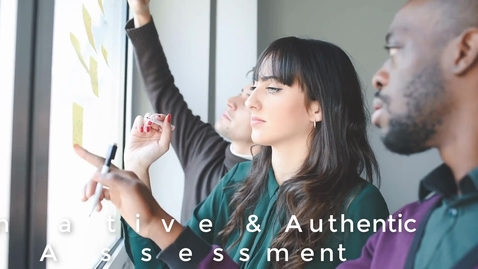 Thumbnail for entry Alternative and Authentic Assessment
