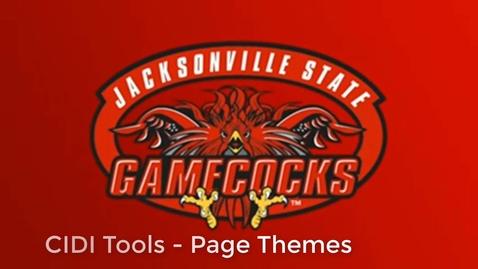 Thumbnail for entry CIDI Tools - Page Themes