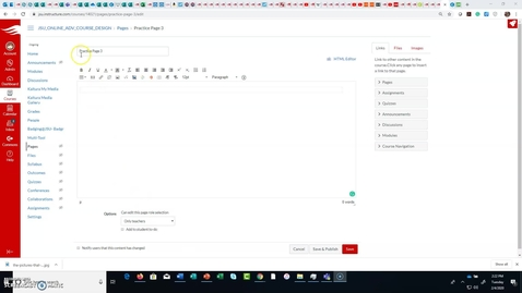 Thumbnail for entry CIDI Tools Module List