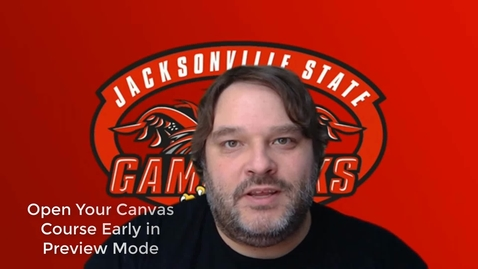 Thumbnail for entry Open Your Canvas Course in Preview Mode