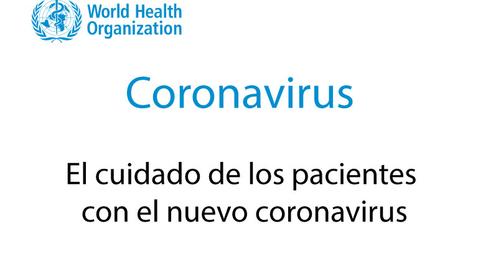 Miniatura para la entrada El cuidado de los pacientes con el nuevo coronavirus