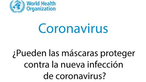 Miniatura para la entrada ¿Pueden las máscaras proteger contra la nueva infección de coronavirus?