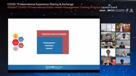 Miniatura para la entrada COVID-19 Intercambiar y compartir de experiencias internacionales
