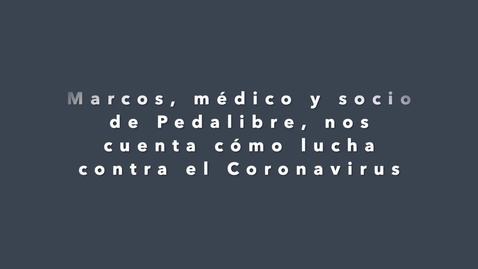Miniatura para la entrada Ciclistas responsables también con el  Covid-19 - Marcos.