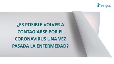 Miniatura para la entrada ¿Es posible volver a contagiarse por el coronavirus tras pasar la enfermedad?