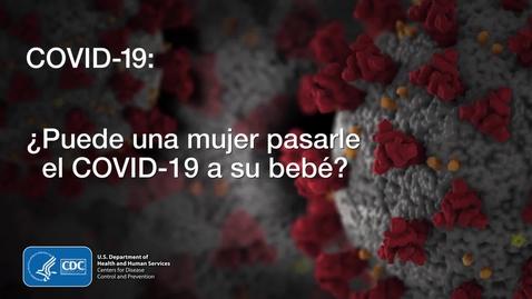 Miniatura para la entrada COVID-19 - ¿Puede una mujer pasarle el COVID-19 a su bebé