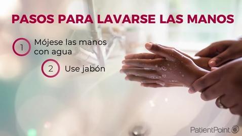 Miniatura para la entrada Pasos para lavarse las manos