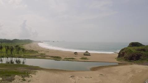Miniatura para la entrada virgin-lonely-beach-with-a-palapa-1958