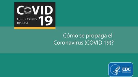 Miniatura para la entrada Cómo se propaga el  Coronavirus (COVID 19)?