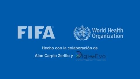 Miniatura para la entrada Los Cinco pasos para eliminar el Coronavirus por la  FIFA y OMS