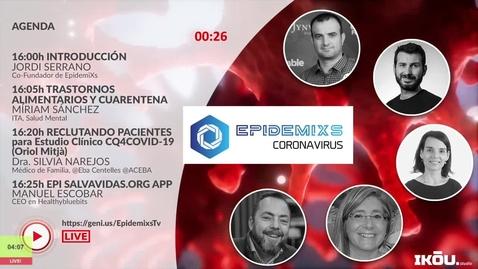 Miniatura para la entrada EpidemiXs TV - Episodio 03