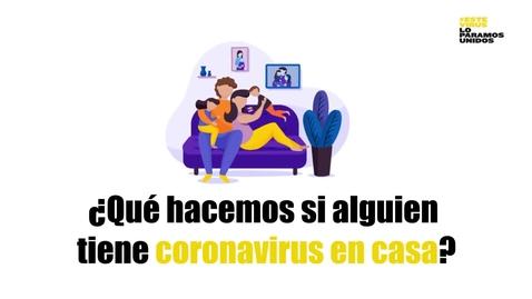 Miniatura para la entrada ¿Qué hacemos si alguien tiene coronavirus en casa?