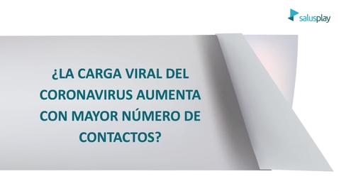 Miniatura para la entrada ¿La carga viral del coronavirus es mayor al aumentar los contactos?