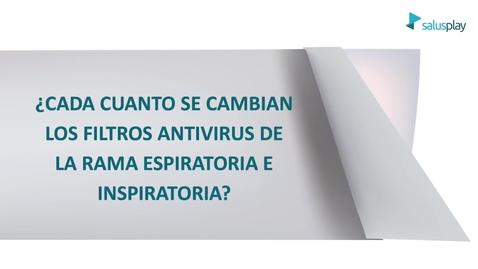 Miniatura para la entrada ¿cada cuánto tiempo se cambian los filtros antivirus del respirador?