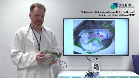 Miniatura para la entrada Validación clínica de máscara Duke de Cressi para su uso como sistema CPAP
