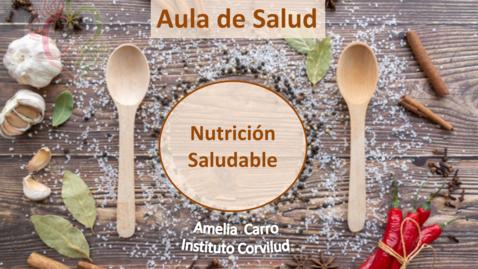 Miniatura para la entrada Aula de Salud: Nutrición Saludable