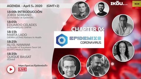 Miniatura para la entrada EpidemiXs - Epiosdio 06