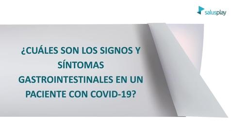 Miniatura para la entrada ¿Cuáles son los signos y síntomas gastrointestinales del covid 19?