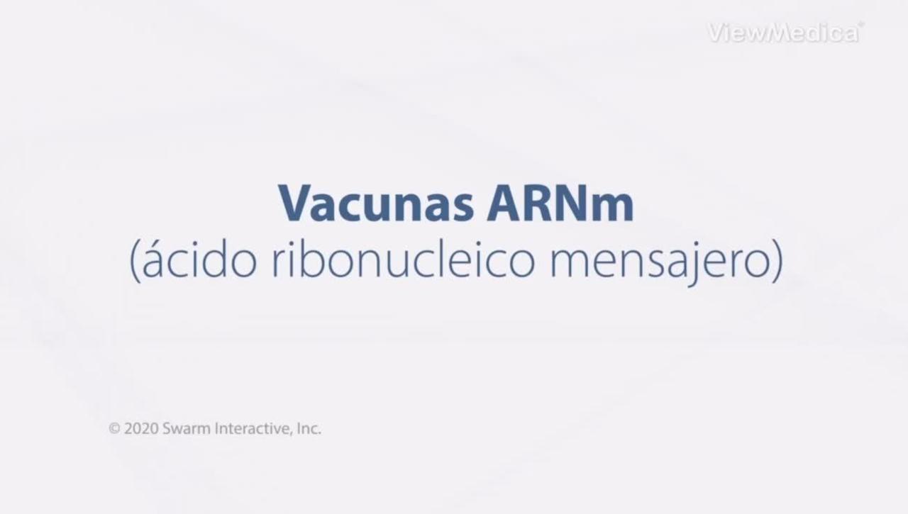 Vacunas ARNm