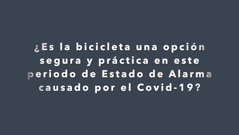 Miniatura para la entrada Ciclistas responsables también con el COVID-19 - Marian.