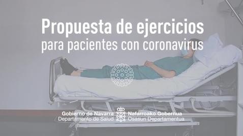 Miniatura para la entrada Ejercicios de rehabilitación para pacientes encamados
