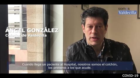 Miniatura para la entrada Ángel González, celador de Valdecilla