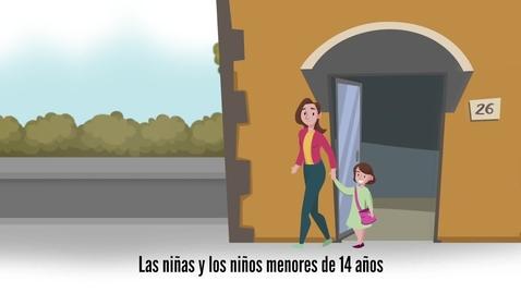 Miniatura para la entrada ¡Los niños y niñas ya pueden salir a pasear! Sigue la regla del 1
