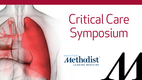 Thumbnail for entry Critical Care Symposium 2020