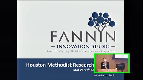 Thumbnail for entry Lunch and Learn Lecture with  Atul Varadhachary, PhD 11.11.19