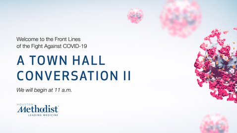 Thumbnail for entry A Town Hall Conversation II 05.07.20