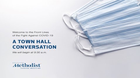 Thumbnail for entry A Town Hall Conversation I 04.17.20