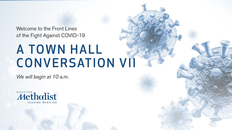 Thumbnail for entry A Town Hall Conversation VII 10.14.20