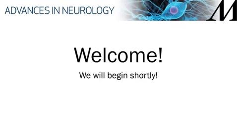 Thumbnail for entry 13th Annual Advances in Neurology