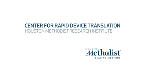 Thumbnail for entry Center for Rapid Device Translation Video