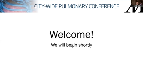 Thumbnail for entry City-Wide Pulmonary Conference 11.3.20
