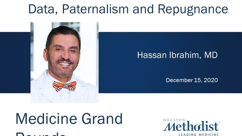 Thumbnail for entry Opportunities to Expand Live Donation with Hassan Ibrahim, MD 12.15.20