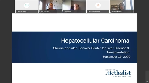 Thumbnail for entry Hepatocellular Carcinoma - 9.16.20