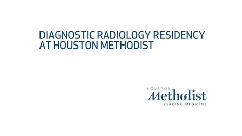 Thumbnail for entry Radiology Residency Virtual Tour Video