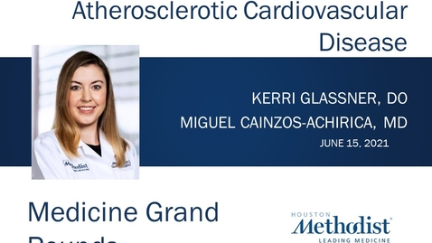 Thumbnail for entry Inflammatory Bowel Disease and Atherosclerotic Cardiovascular Disease with Dr. Kerri Glassner - 6.15.21