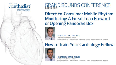 Thumbnail for entry DeBakey Grand Rounds 06.03.21