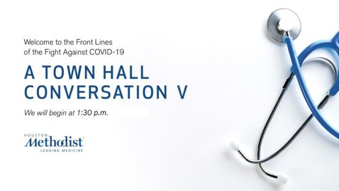 Thumbnail for entry A Town Hall Conversation V 08.19.20