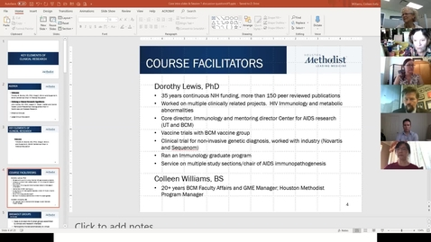 Thumbnail for entry Key Elements of Clinical Research- Course 1: Defining a Clinical Research Hypothesis 9.15.20