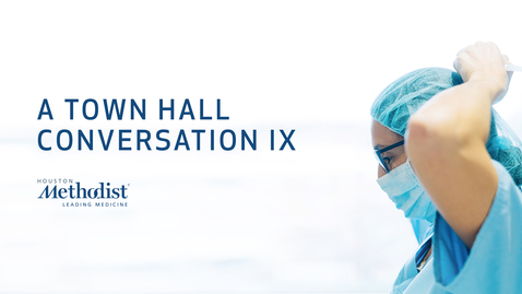 Thumbnail for entry A Town Hall Conversation IX 12.10.20