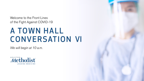 Thumbnail for entry A Town Hall Conversation VI 09.11.20