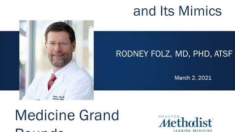 Thumbnail for entry Asthma in Older Adults and Its Mimics with Rodney Folz, MD, PhD 03.02.21